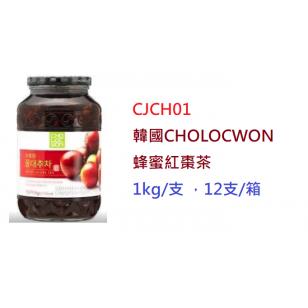 韓國CHOLOCWON蜂蜜紅棗茶 1kg/支(CJCH01)