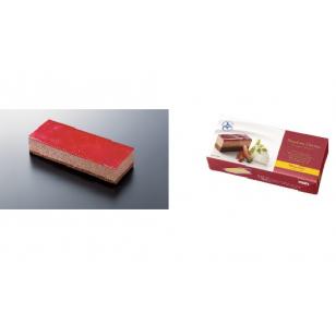 凍-日本SAVEUR北海道紅莓朱古力芝士蛋糕 215g/盒(CKJF0001)