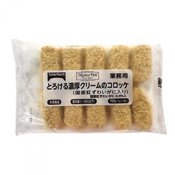 *日本Tablemark紅蟹肉忌廉薯餅75gx10件/包(JFV06)