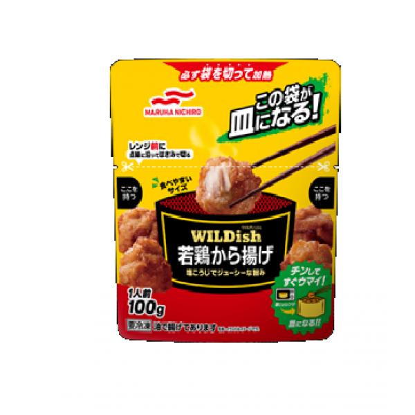 凍- WILDish 一口炸雞  100g/包(JPC8393/200161)