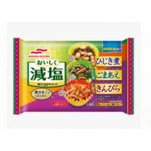 日本MARURA少鹽三款冷盤 90g