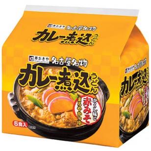 日本名古屋咖喱濃湯烏冬麺(5袋裝)450g/包(JPN5857/902625)