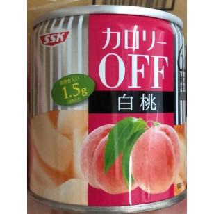 日本SSK - 罐裝薄切白桃 185g/罐(JPSK9719/700729)