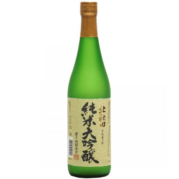 日本北鹿 純米大吟釀 北秋田 720ml/支(JPW1307/709109)