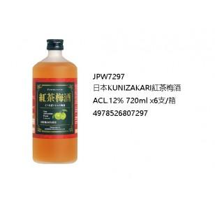 日本KUNIZAKARI紅茶梅酒ACL.12% 720ml