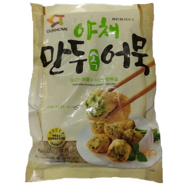 韓國野菜餃子魚糕 300g (MBD8115)