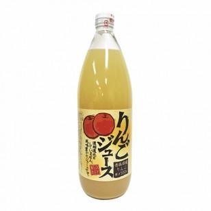 """*日本""""GOLD PACK"""" SUNPACK 林檎蘋果汁(玻璃樽) 1L x 6 (JPSJ11A)"""